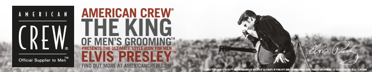 AMERICAN CREW - The King of men's grooming - Elvis Presley