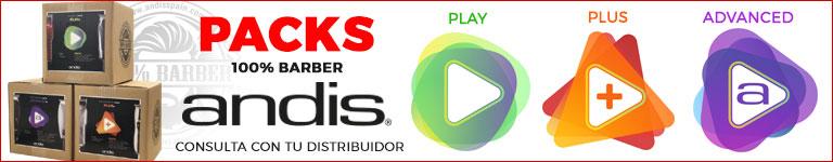 ANDIS - Packs 100% Barber - Consulta a tu distribuidor