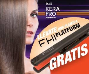 Kerapro Advances te regala una plancha de pelo para conseguir los mejores alisados en tu salón