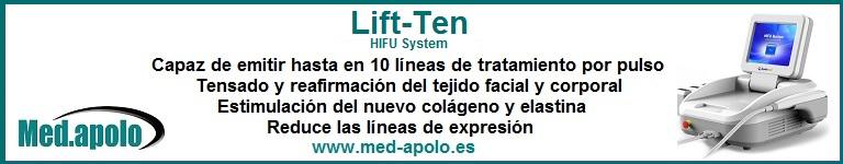 LIFT TEN - HIFU System - Tratamientos faciales y corporales