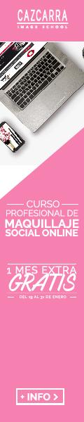 CAZCARRA IMAGE SCHOOL. Curso Profesional de Maquillaje Social online