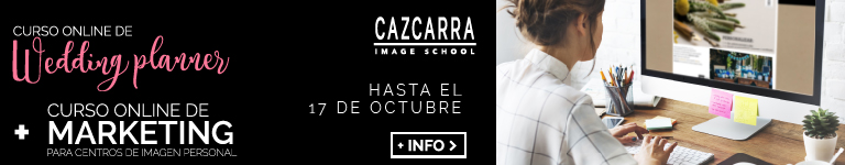 CAZCARRA IMAGE SCHOOL. Curso online de Wedding Planner
