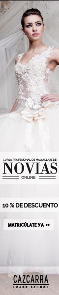 Cazcarra. Curso profesional on-line de maquillaje de novias