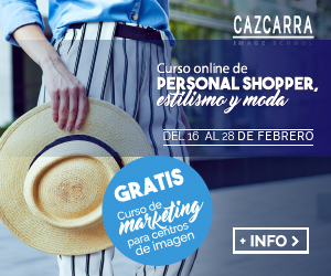 CAZCARRA. Curso online de Personal Shopper, Estilismo y Moda