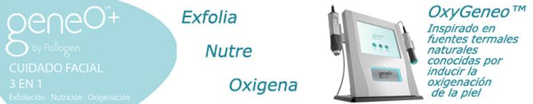 oxygeneo+, cuidado facial 3 en 1