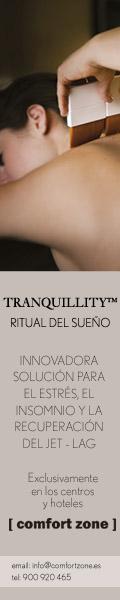 TRANQUILLITY Ritual del Sueño - Exclusivamente en los centros Comfort Zone