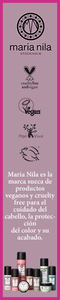 MARIA NILA, productos para el cabello veganos - cruelty free