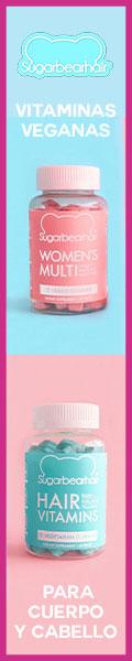 SUGAR BEAR HAIR - Vitaminas veganas para cuerpo y cabello