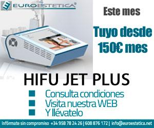 HIFU JET PLUS. Este mes, tuyo desde 150 euros al mes
