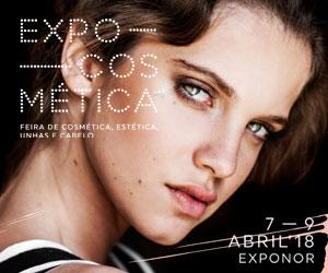 EXPOCOSMÉTICA - Feira de Cosmética, estética, Unhas e Cabelo - 7 a 9 abril 2018 - Exponor