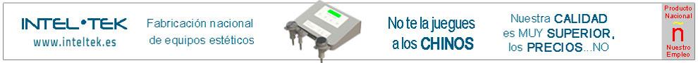 INTELTEK, fabricación nacional de equipos estéticos