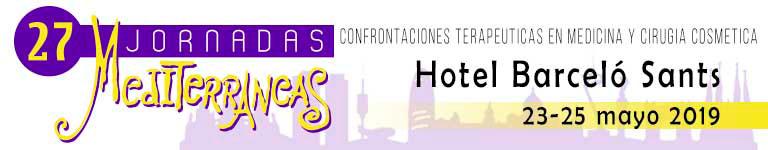 27 JORNADAS MEDITERRÁNEAS - Hotel Barceló Sants - 23-25 mayo 2019