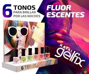 Nueva Colección de esmaltes Fluorescentes Gelfix: ¡Ilumina las noches con tus uñas!
