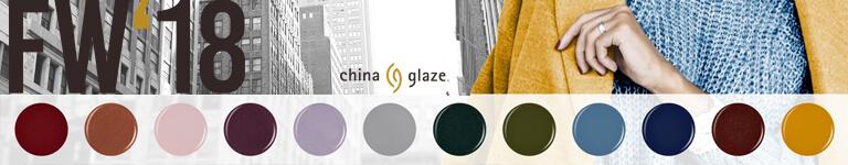 KAPALUA China Glaze - FW '18 - Esmaltes de tendencia total