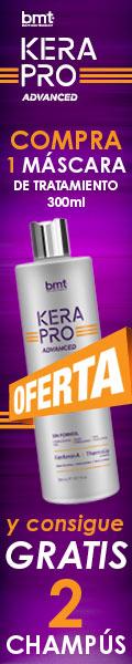 Oferta Tratamiento de Alisado Kapalua Kerapro Advanced. Consigue gratis los champús pre y post con la compra de una máscara de tratamiento.
