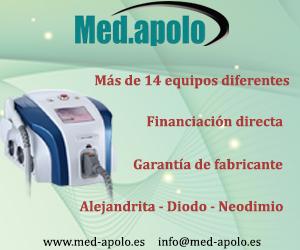 MED.APOLO: Depilación Láser - Más de 14 equipos - Garantía de fabricante - Financiación directa