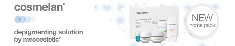 Cosmelan: despigmenting solution by mesoestetic