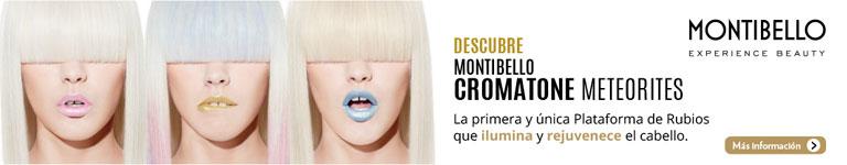 MONTIBELLO CROMATONE METEORITES - Plataforma de rubios que ilumina y rejuvenece el cabello