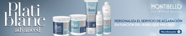MONTIBELLO - Plati Blanc Advanced, nuevo sistema de decoloración cosmética