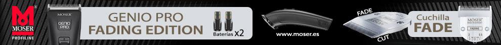 MOSER - Genio Pro Fading Edition - Cuchilla FADE