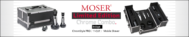 MOSER Limited Edition Chrome Combo
