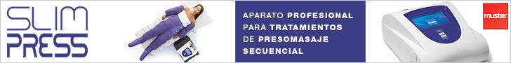 SLIM PRESS: Aparato Profesional para Tratamientos de Presomasaje Secuencial