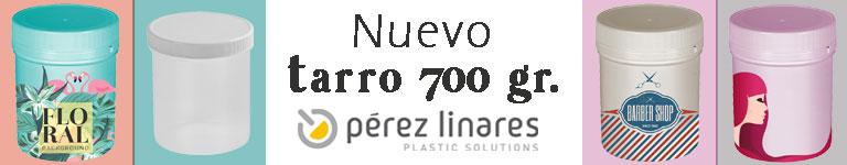 Pérez Linares Plastic Solutions - Nuevo Tarro 700 gr
