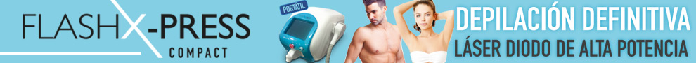 Flasx X-Press. Depilaci�n Definitiva. L�ser Diodo de alta potencia.