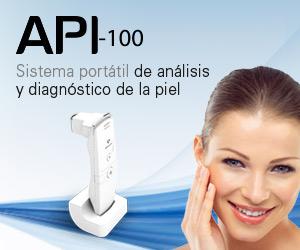 API 100. Sistema port�til de an�lisis y diagn�stico de la piel