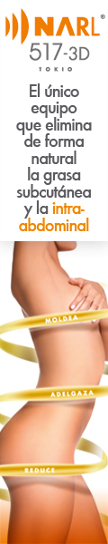 NARL 517-3D. El �nico equipo que elimina de forma natural la grasa subcut�nea y la intra-abdominal