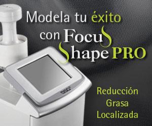 Modela tu éxito con FOCUS SHAPE PRO: Reducción de grasa localizada