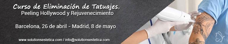 SOLUTIONS ESTÉTICA - Curso de Eliminación de Tatuajes