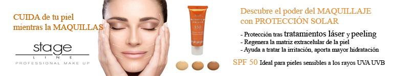 STAGE LINE. Cuida tu piel mientras la maquillas