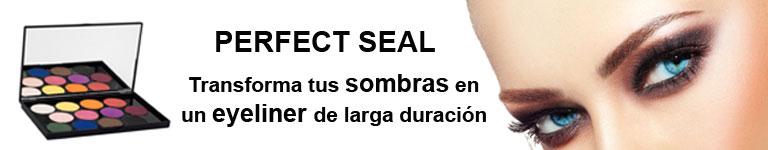 PERFECT SEAL. Transforma tus sombras en un eyeliner de larga duración