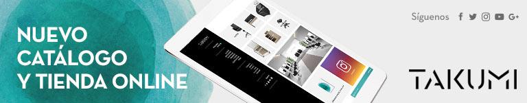 TAKUMI: Nuevo catálogo y tienda online
