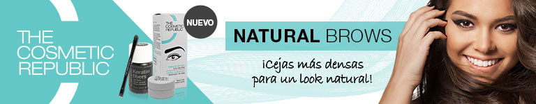 THE COSMETIC REPUBLIC - Natural Brows. ¡Cejas más densas para un look natural!