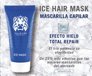 V�lquer Ice Hair Mask. Masacarilla Capilar efecto hielo