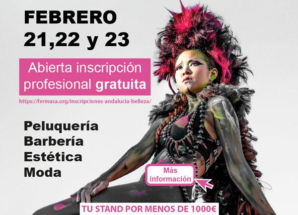 Andalucía Belleza & Moda-Granada - Abierta inscripción profesional gratuita