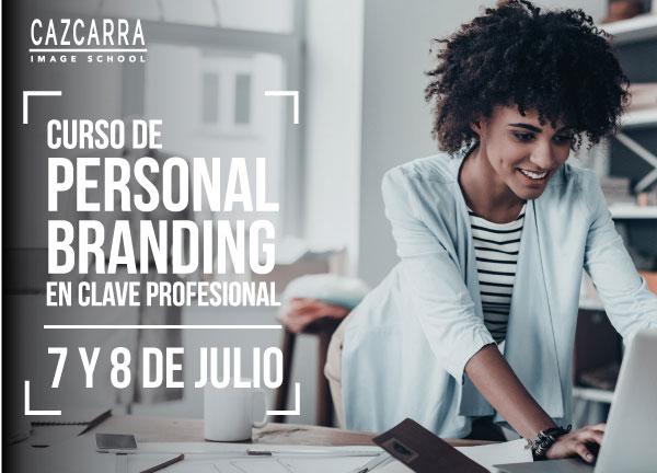 Crea tu marca personal con Cazcarra Image School