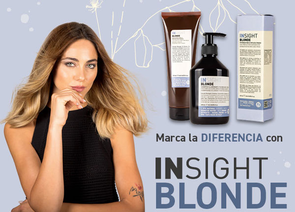 Nace Insight Blonde, mantenimiento para mechas Balayage