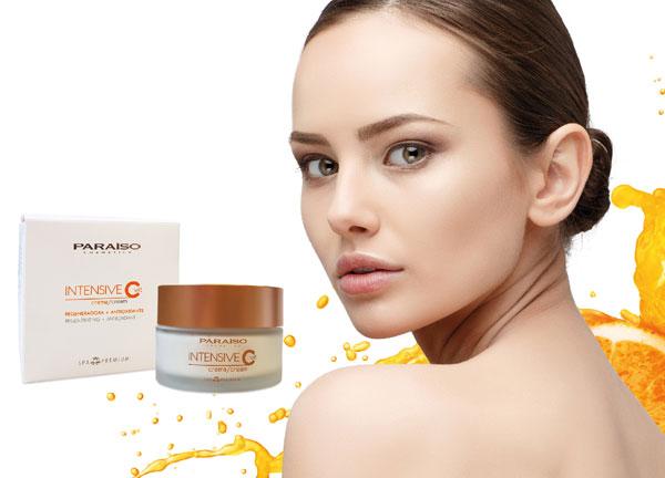 Nueva crema facial Intensive C, con vitamina C de Paraíso Cosmetics