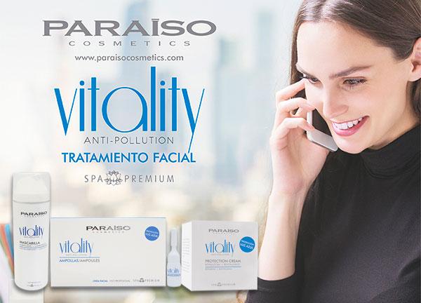 Nueva línea antipolución Paraíso Cosmetics
