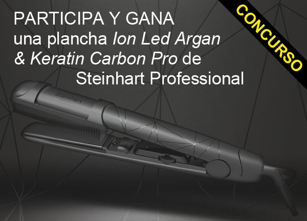Regalamos 6 planchas Ion Led Argan&Keratin Carbon Pro de Steinhart Professional