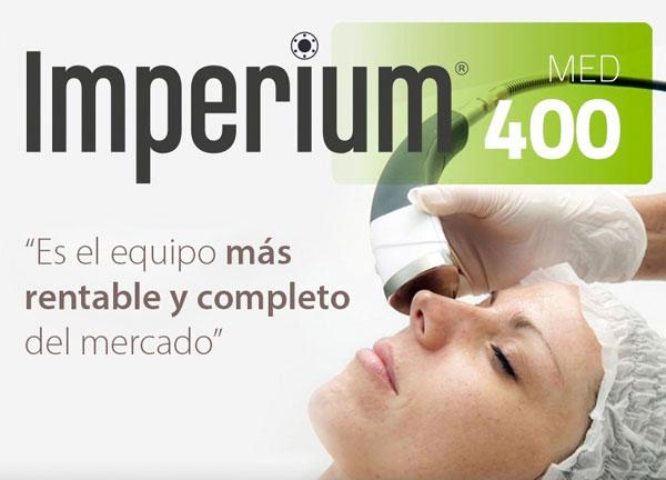 Imperium Med 400, el equipo estético del futuro