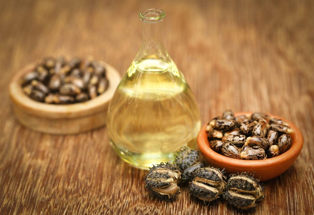 El aceite de ricino en cosmética