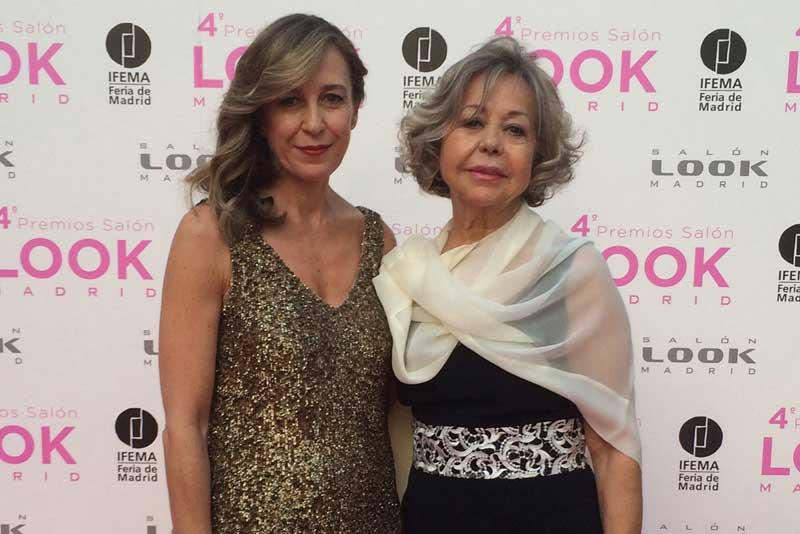 Estrella Pujol, fundadora del centro Oxigen de Barcelona y Julia González, directora comercial de Salon Look Madrid.