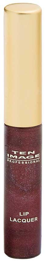 Lip lacquer tono berenjena satinado, oscuro y con matices morados de Ten image