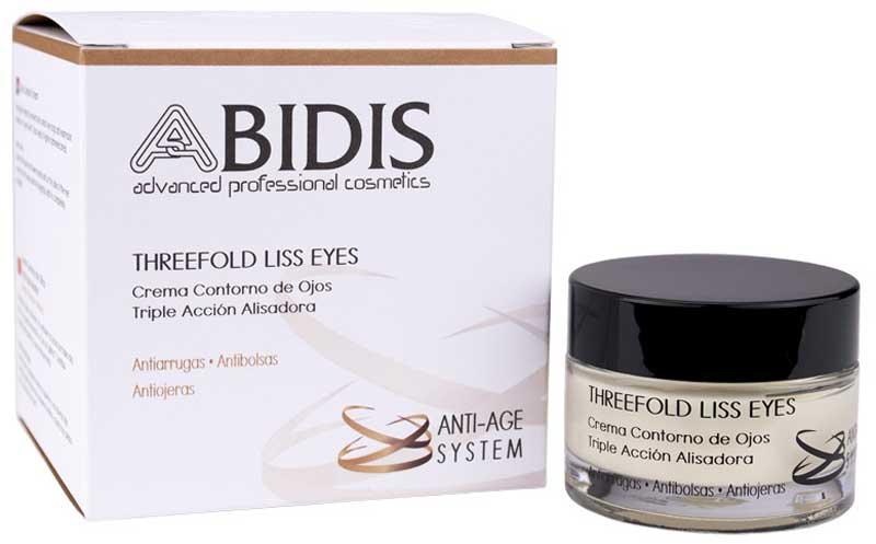 línea de cuidado y protección para pieles maduras Anti-Age System de Abidis