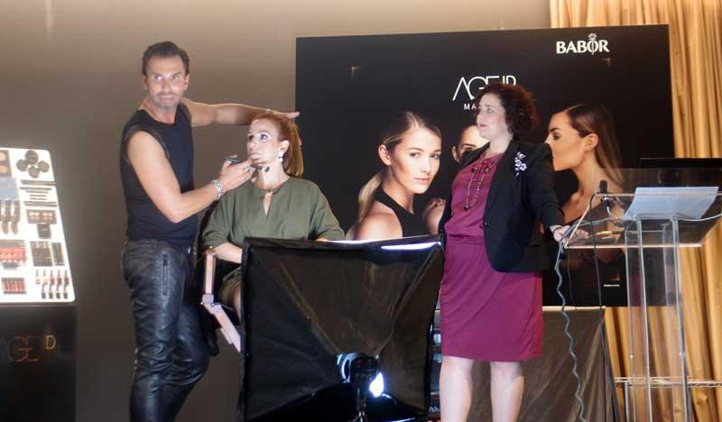 Babor presenta en Barcelona su línea AGEID