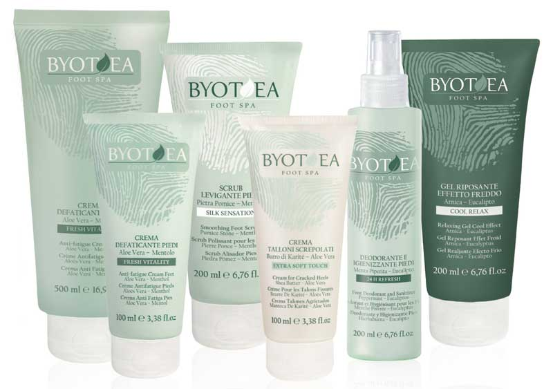 Pies más suaves y frescos con Byotea Foot Spa